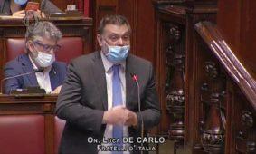 De Carlo: no sanatorie immigrati in Agricoltura