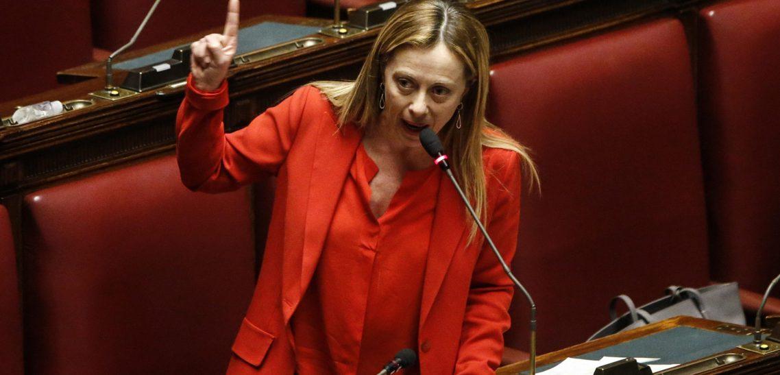 CASHBACK, MELONI: SU MOZIONE FDI DI OGGI IN SENATO I PARTITI SI ASSUMERANNO DAVANTI AGLI ITALIANI LE LORO RESPONSABILITÀ