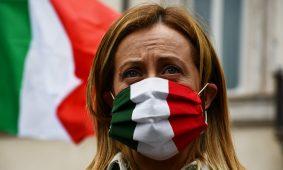 RECOVERY, MELONI: NESSUNO IN ITALIA HA VISTO TESTO, DEMOCRAZIA BUTTATA IN DISCARICA