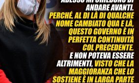 Giorgia Meloni al «Corriere della Sera»: «Sul Governo non vedo passi in avanti. Il Copasir a FdI? Bisogna rispettare la legge»